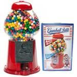 King Carousel Gumball Machine Gift Set. A classic and fun gift for the holidays! Perfect for kids and adults alike! #christmas #holidays