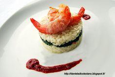 Ingredienti per 4 persone :   • 320 gr. di riso vialone nano  • 120 gr. di…