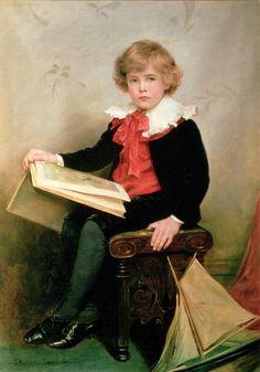 Portrait of Norman Stewart Davies