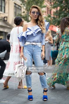 Jessica Wang is seen attending Rebecca Minkoff during New York Fashion Week on…
