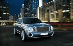New Bentley EXP 9 F Luxury Performance SUV. The EXP 9 F will be Bentley's first foray into Sport Utility Vehicles. Bentley Suv, Bentley Sport, New Bentley, Bentley Mulsanne, Suv Cars, Sport Cars, Motor Sport, Volkswagen, Supercars