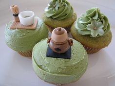 Green Tea Cupcakes | Flickr - Photo Sharing!