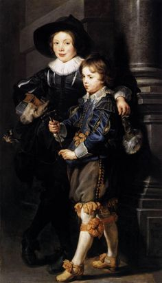 RUBENS Pieter Paul - Flemish (Siegen 1577-1640 Antwerp) - Albert and Nicolaas Rubens, his sons