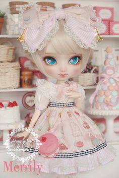 "[Merrily] Pullip Custom by ""Happydolly x Memento"" | Flickr : ayaume. #doll #pullip"