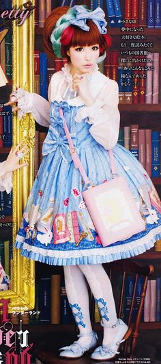 Alice inspired Lolita. There's Still time to submit your Japanese Street Fashion Images for our upcoming exhibit! http://www.morikami.org/exhibits/upcoming-exhibits/