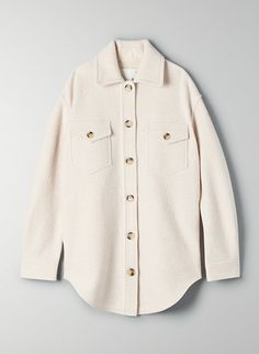 This is a workwear-inspired utility jacket updated with flattering details like dropped shoulders and a curved hem. How To Wear Scarves, Jacket Style, Costume, Utility Jacket, Shirt Jacket, Winter Fashion, Men Casual, Smart Casual, Winter Jackets