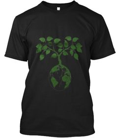 Earth Day T Shirt  2017 Black T-Shirt Front #EarthDayHyattRegencyMonterey
