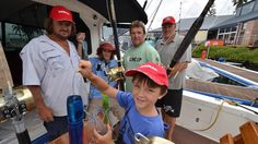 Boat set for action: Kurt Nocelli and crew are ready to go for the Golden Lure. Port Macquarie, Fishing Tournaments, Big Game, Emergency Preparedness, All In One, Action, Boat, Group Action, Dinghy