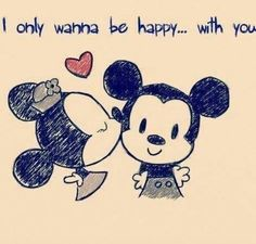 Micky and Minnie <3
