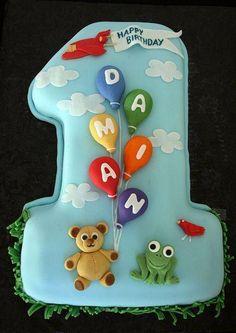 Number 1 birthday boy cake Cake pics Pinterest Boy cakes