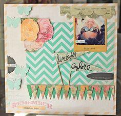 *NEW CHA Winter 2012 - Heidi Swapp Sugar Chic - I love Miss Heidi! Loe the darling pennant banner!