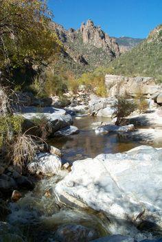 Tucson, Arizona  Sabino Canyon