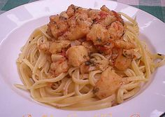 Linguine con filetti di pangasio,ricetta pesce