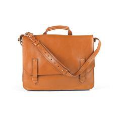 Nicholson backpack/ messenger bag in tan