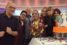 Ticiane Pinheiro ganha surpresa da filha, Rafaella Justus, em seu aniversário