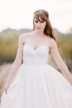 custom simple wedding dress  hmm....one day? ;)