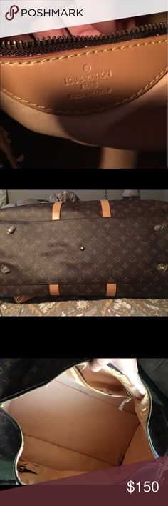 """Duffel bag Duffel bag great condition willing to trade for Neverfull """"NOT REAL"""" Bags Travel Bags"""