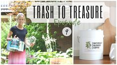 Trash to Treasure Project ~ Paint Can Reuse~ Drawer Idea ~ Glass Jar DIY...