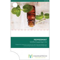 Peppermint Essential Oil Sample Cards