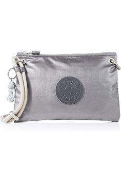 (This is an affiliate pin) Kipling Knippa Women?s Cross-Body Bag, Black (Carbon Metallic), 23x15x1.5 Centimeters (B x H x T)