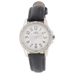 Invicta Women's 16340 Angel Analog Display Japanese Quartz Black Watch >>> Details can be found by clicking on the image.