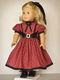 Mid 1800's Dress by AnnasGirls on Etsy,