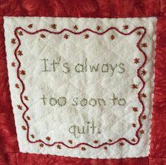 Henibean: The Quilt Treatment!