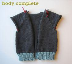 body-complete grampa shawl sweater tutorial