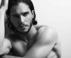 Kit Harington (aka Jon Snow) Being All Wet And Wonderful