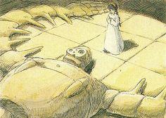 Film: Castle In The Sky ===== Scene: Meeting Laputa's Robot ===== Characters Shown: Sheeta & The Robot ===== Production Company: Studio Ghibli ===== Director: Hayao Miyazaki ===== Producer: Isao Takahata ===== Written by: Hayao Miyazaki ===== Distributed by: Toei Company