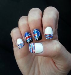 reputable site 44356 dc7d4 20 Best Buffalo Bills Makeup Hair & Nails images in 2016 ...