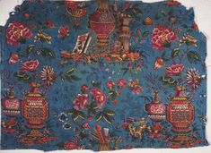 Philadelphia Museum of Art - Collections Object : Printed Textile *(Block printed Chinoiserie design made in Jouy-en-Josas, France c1780(?)*)
