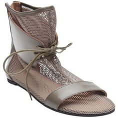 Mesh Lace Boot - Lyst
