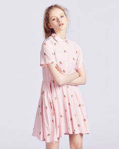 Lazy Oaf Mini Strawberry Dress - View all - NEW IN - Womens