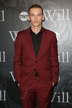 Jamie Campbell Bower attends the premiere of TNT's 'Will' in signature HUGO tailoring