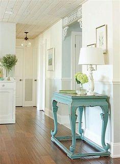 turquoise painted furniture | Sarah Richardson. Love turquoise painted furniture! | Home Sweet Home