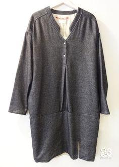 Vestido linea Cocoon de #23CB en Lagasca 83.  www.facebook.com/23CBCristinaBarrilero