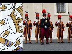 Swiss Guard - Vatican - President visits the Pope Swiss Guard, Rome, Warriors, Wrestling, Earth, Youtube, Travel, Angels, Switzerland