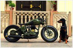 "Rajputana Custom's 1942 BSA M20 - ""Laado"" - Pipeburn - Purveyors of Classic Motorcycles, Cafe Racers & Custom motorbikes"