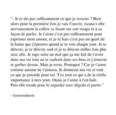 Image de amour, french, and quote ça envoie du lourd
