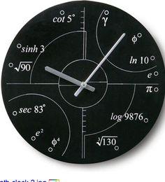 Math clock? obsessed