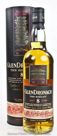 Glendronach Whisky The Hielan' 8 y.o.