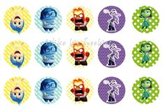 Freebies: FREE Inside Out bottlecap images