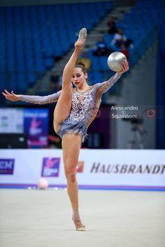 Ekaterina HALKINA (Belarus) ~ Ball @ World Cup Pesaro-Italia 2017     Alessandro Squassoni.