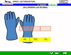 MATERIALES - Aproximación a la lectoescritura: P -L - M - S - T - N - Ñ - F - D - B - V - R (fuerte y suave) - C - K - Q - H - CH - Z- CE - CI - G (suave).  Libros interactivos multimedia (LIMs) de actividades de aproximación a la lectoescritura para Educación Infantil y 1º ciclo con pictogramas de ARASAAC y fotos en letra cursiva Escolar 2.