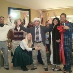 Christmas Vacation themed PARTY! @Kristen Herrmann yes.  CHristmas EVE?!?!