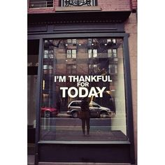 Be Thankful for Today!    #gratitude #health #wellness