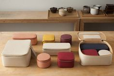 Introducing Cuyana x Marie Kondo—a mini-capsule of thoughtfully designed bento boxes created to store life's little luxuries, joyfully. Shop our collaboration. Leather Accessories, Travel Accessories, Japanese Packaging, Makeup Package, Interior Design Books, Marie Kondo, Jewelry Case, Bento Box, Creative Industries