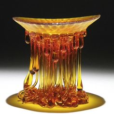 """""""Jellyfish"""" Glass Tables With Dripping Tentacles That Look Like They've Been Created By The Sea 