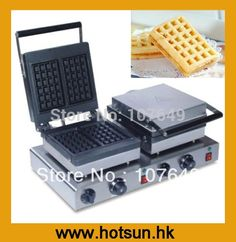 240.00$  Watch here - http://ali313.worldwells.pw/go.php?t=718023516 - Hot Sale Two-head 220V Electric Waffle Maker 240.00$